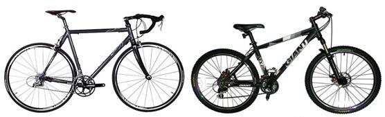 Razlika med gorskim in cestnim kolesarstvom