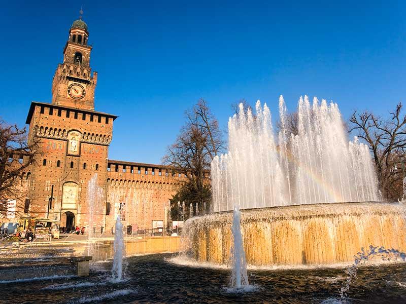 Obisk Milana