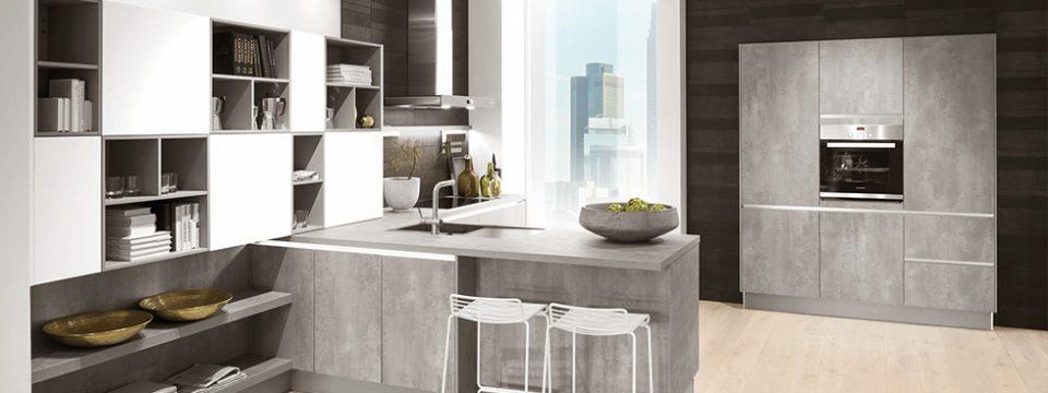 Moderne kuhinje, sijoče bolj kot sonce