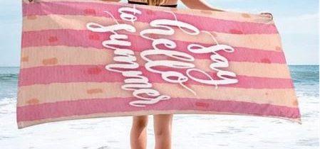 Brisače za na plažo zagotovijo udobje