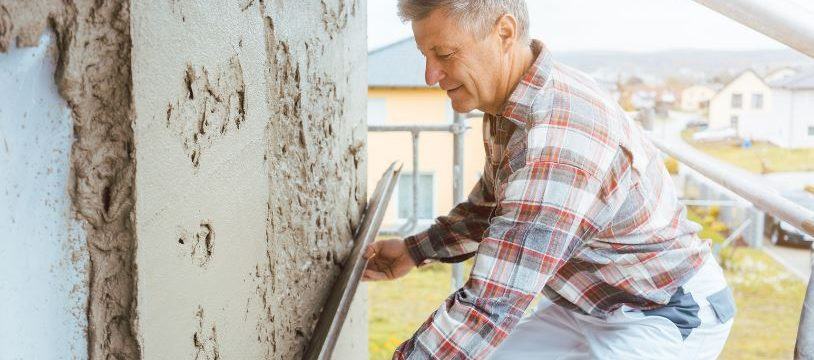 Izolacija fasade je pomemben del novogradnje